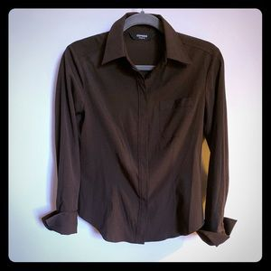 Women's Express dress shirt. Size 5/6.